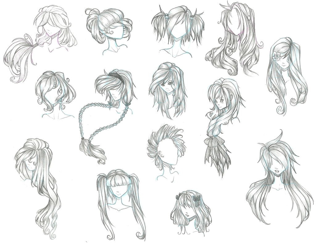 Anime Hair By Aii Cute On Deviantart