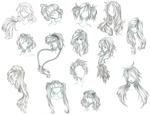 anime hair