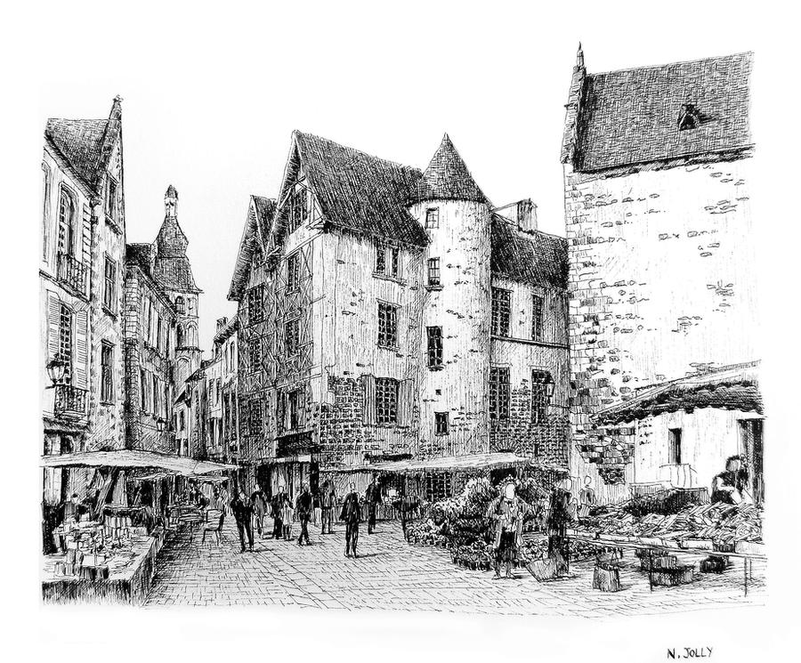 Sarlat by nicolasjolly