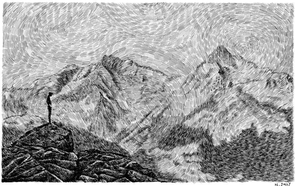 Fingerprint - Child On The Rock by nicolasjolly