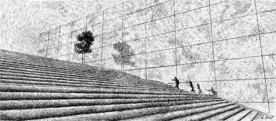Fingerprint - Stairway by nicolasjolly