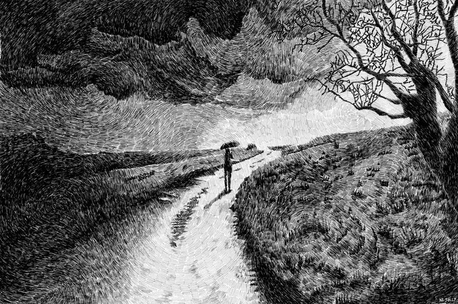 Fingerprint - Rain by nicolasjolly