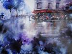 La Marine - Paris painting