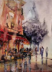 Montmartre watercolor