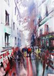 Paris Painting Montmartre