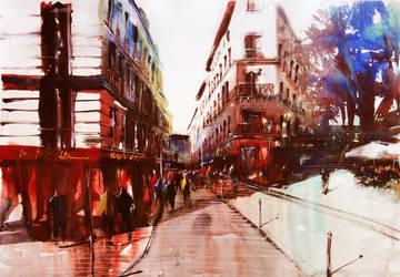 Paris Watercolor