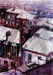 Parisian roofs by nicolasjolly
