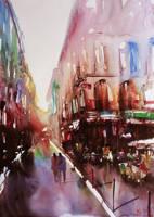 Paris painting by nicolasjolly