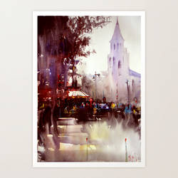 Paris atmospheric Serie