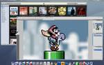 Desktop Screenshot - Jan. '09