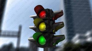 Traffic Light by MitchellLazear