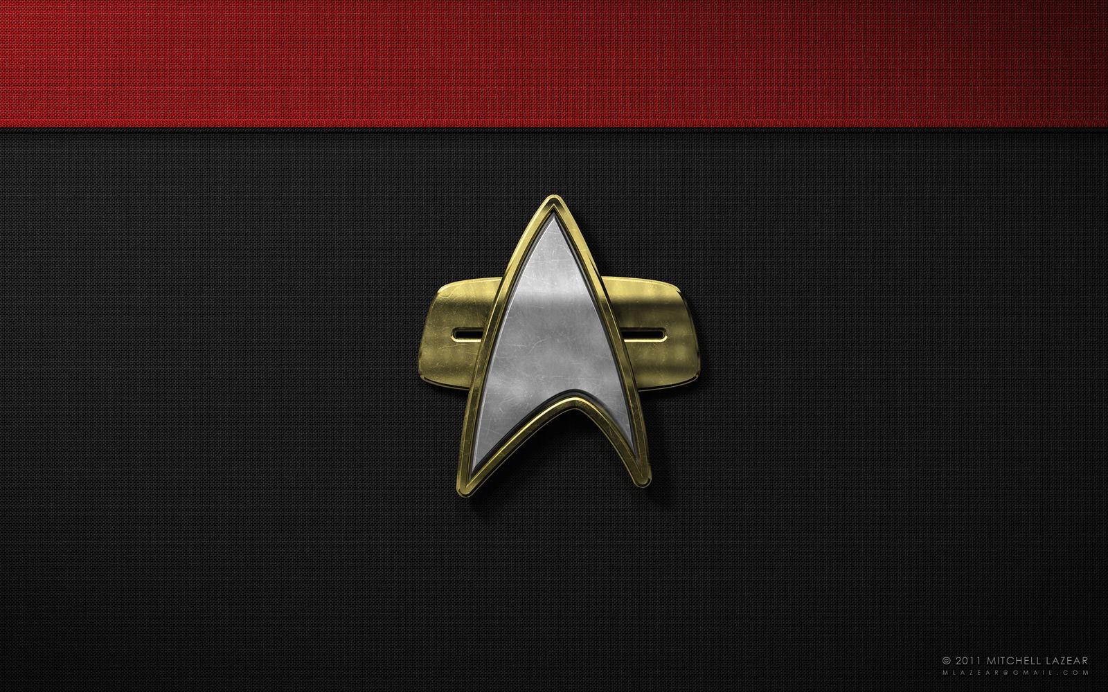Star Trek Communicator Pin by MitchellLazear