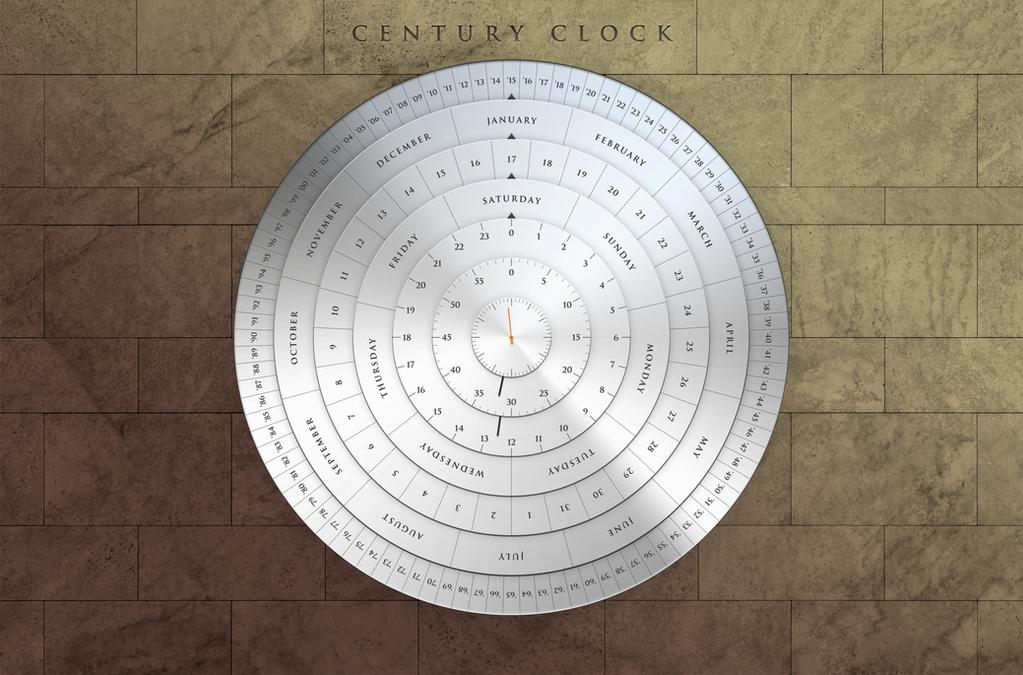 Century Clock by MitchellLazear