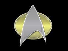 Star Trek Emblem by MitchellLazear