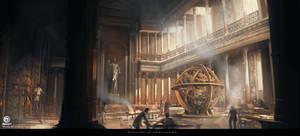 Assassin's Creed Origins - Library of Alexandria