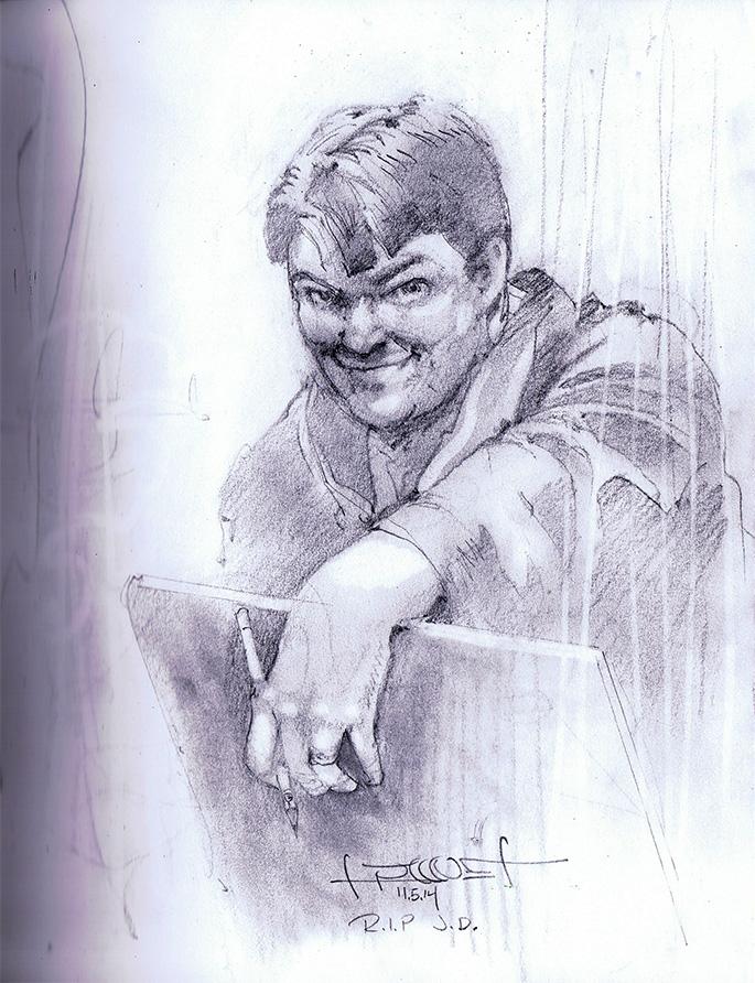 Jeremy Dale by Fusciart