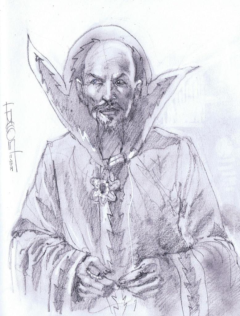Ming the Merciless by Fusciart
