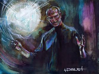 Steve Jobs by Fusciart