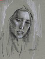 Gong Li Study by Fusciart