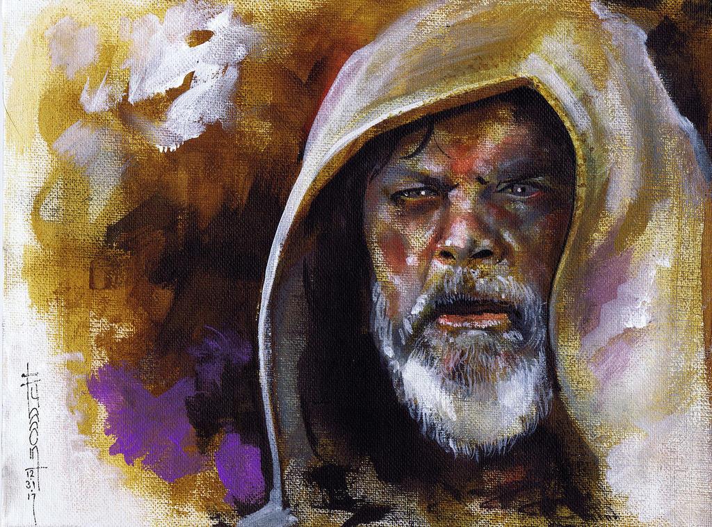 Skywalker Last Jedi by Fusciart