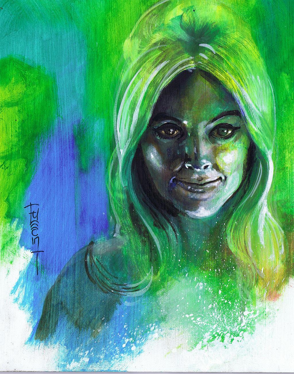 Sharon Tate Study by Fusciart