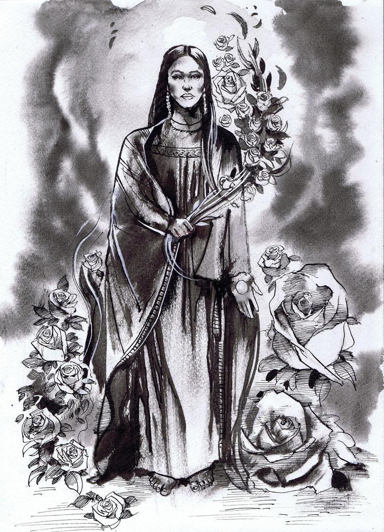 Mary Magdelene by Fusciart