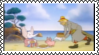 Mumfie Stamp-Seaside Picnic by ColumbiaHarmeowny