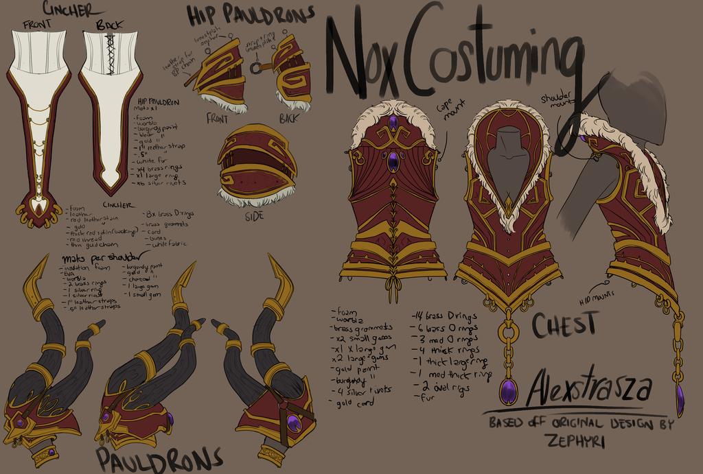 Alexstrasza - Zephyri - Costume Breakdown by kiranox