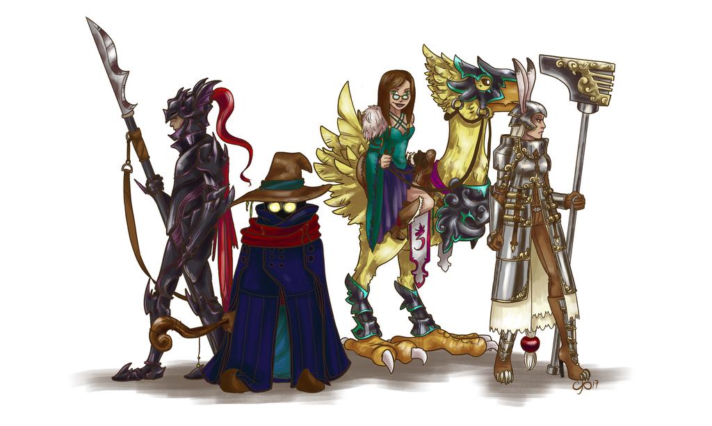 Final Fantasy by kiranox