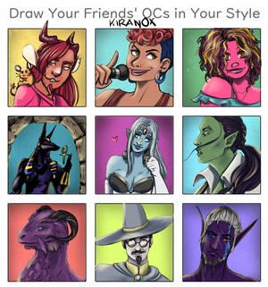 Draw Your Friend's OCs!