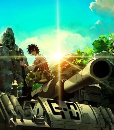 gray and a tank by temarikiba