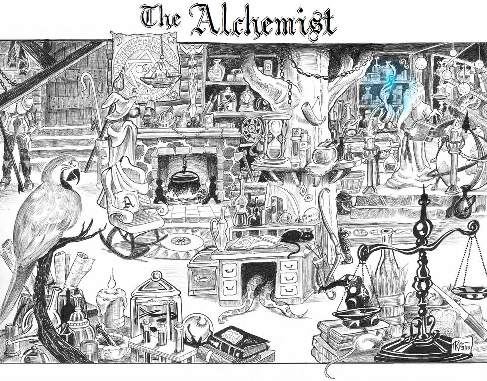THE ALCHEMIST by Ricky-Roo302