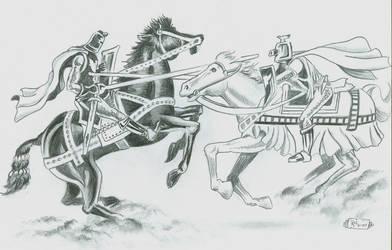 GALAHAD TRIUMPHANT by Ricky-Roo302