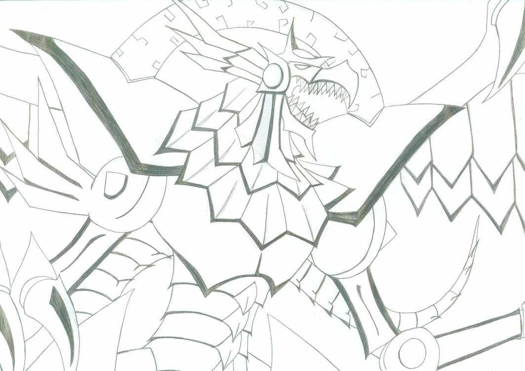 Winged Dragon Of Ra Coloring Pages Coloring Pages