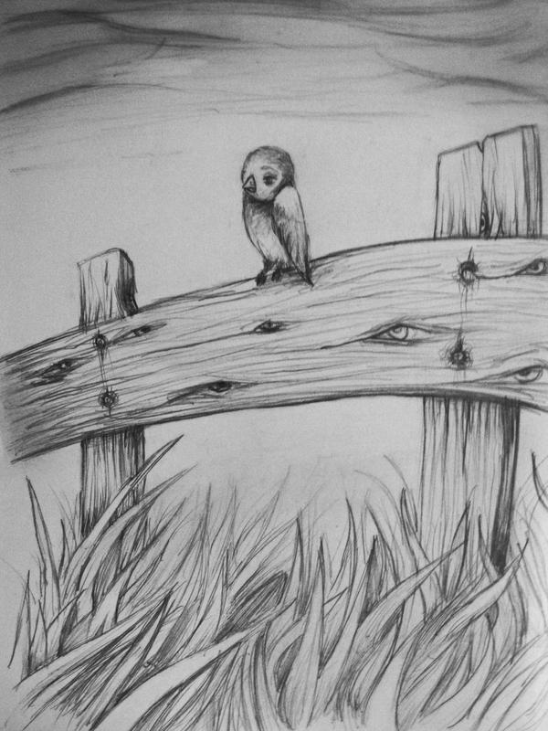 The Sad Bird by ChristopherJStafford