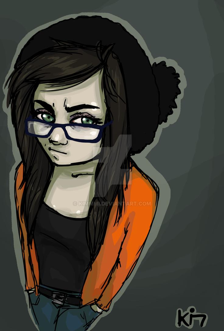 Zombie self portrait by Kimmmi