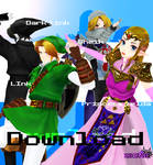 (TDA TLOZ Ocarina of time) Model Pack +DL 2018
