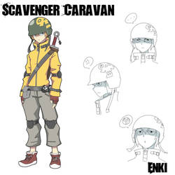 'Scavenger Caravan' Enki