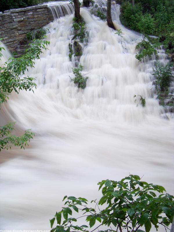 Rushing Waterfall : 08 by taeliac-stock