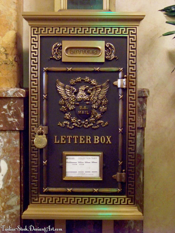 Vintage Us Mailbox 02 By Taeliac Stock On Deviantart