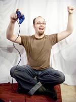 PS2 Guy Sitting : 23 by taeliac-stock