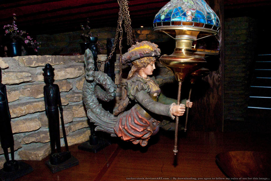 HotR : Mermaid Lamp Holder 04 by taeliac-stock