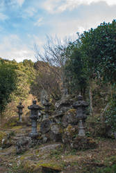 Statue: Mt Hachiman: 14 by taeliac-stock