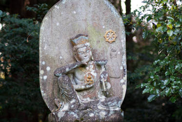 Statue: Mt Hachiman: 05 by taeliac-stock