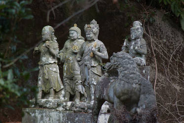 Statue: Mt Hachiman: 10 by taeliac-stock