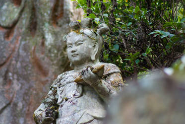 Statue: Mt Hachiman: 09 by taeliac-stock