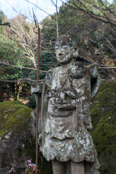 Statue: Mt Hachiman: 01 by taeliac-stock