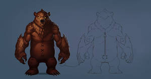 Bear Concept by Zagumennyy