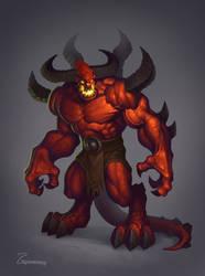 Demon by Zagumennyy