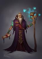 Druid by Zagumennyy